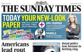 The Sunday Times - Portada