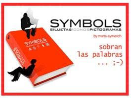 Symbols, siluetas, iconos y pictogramas
