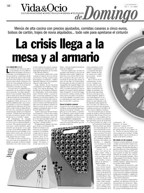 Las Provincias 7/12/08 p.64-65