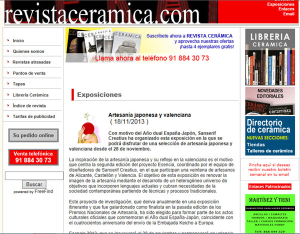 RevistaCeramica 18-11-13