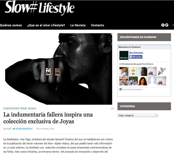 Slow Lifestyle 12-3-14