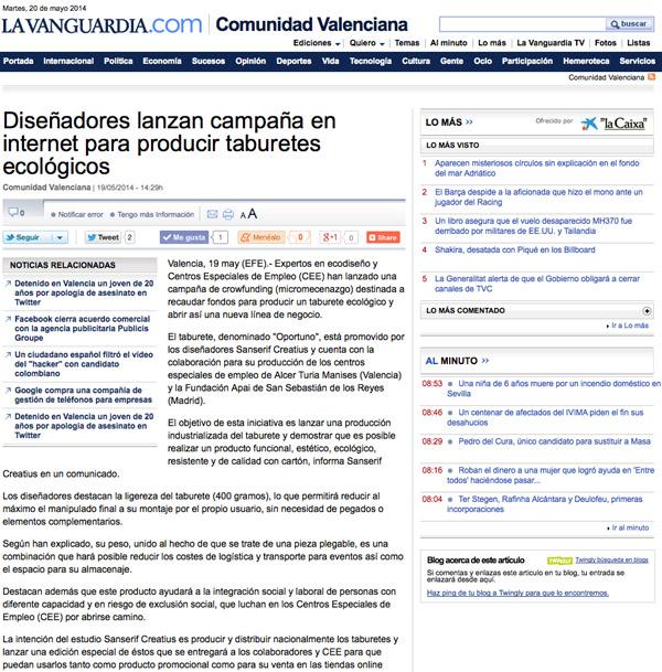 La Vanguardia 19-5-14b