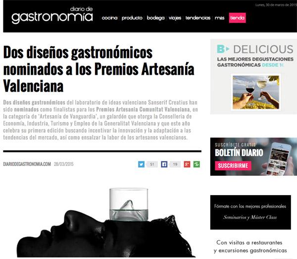 Diario de Gastronomia 27-3-15